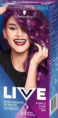 lila hårfärg köpa